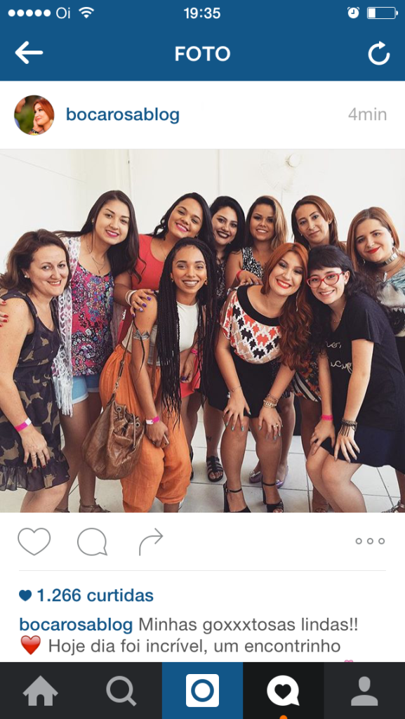 instagram boca rosa blog
