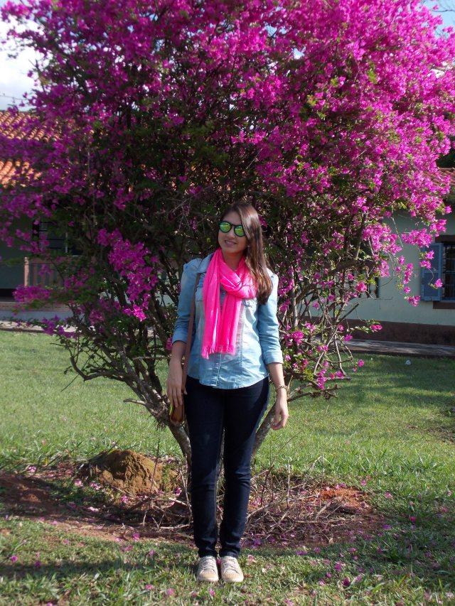 look lenço pink 3