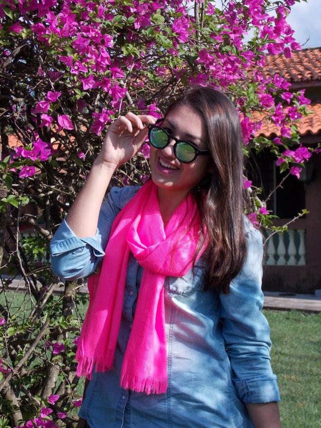 look lenço pink 4
