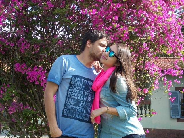 look lenço pink 5